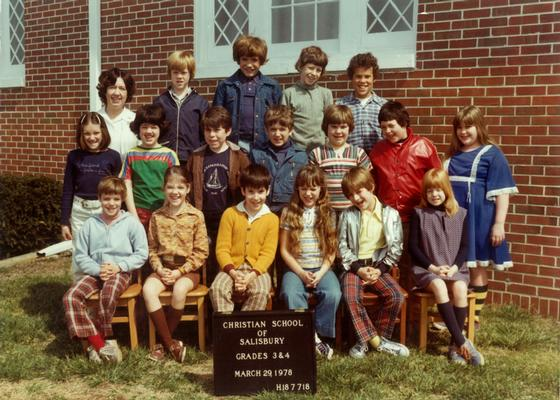 Third & Fourth Grade - 1978