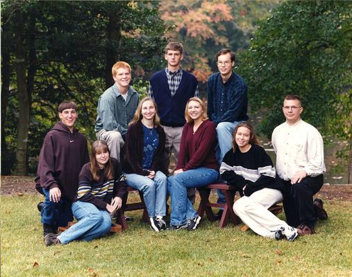 Class of 1999 - first graduating class